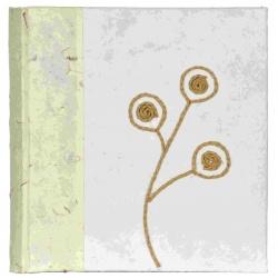 Fotoalbum 10x15 / 200 z ručného papiera kvety