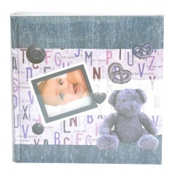 Detský fotoalbum 10x15 / 200 foto BABY BOOK modrý