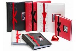 Svadobný fotoalbum 13x18 / 200 čierny GENTLE LOVE