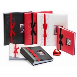 Svadobný fotoalbum 13x18 / 200 červený GENTLE LOVE
