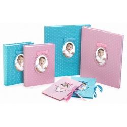 Detský fotoalbum 10x15/200 YOUNG CHILD ružový