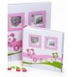 Detský fotoalbum 10x15/200 foto LUCKY BABY ružový
