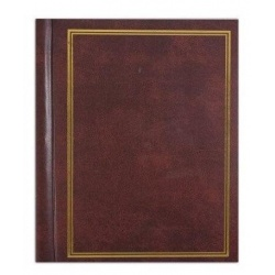 Samolepiaci fotoalbum 22,8x28/40s. CLASSIC hnedý