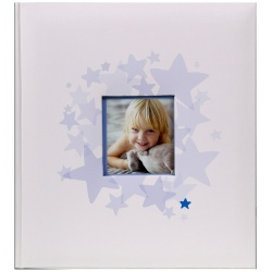 Detský fotoalbum na rožky 29x32/60s. BABY´s MIDDLE modrý