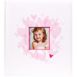 Detský fotoalbum na rožky 29x32/60s. BABY´s MIDDLE ružový