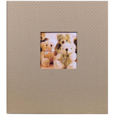 Detský fotoalbum na rožky LOVELY TEDDY tmavý