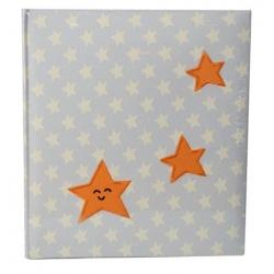Detský fotoalbum na rožky BABY STAR biely