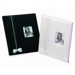 Svadobný fotoalbum na rožky WEDDING FANTASY čierny