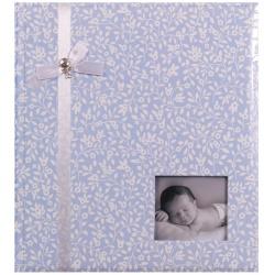 Detský fotoalbum na rožky MY LIFE modrý