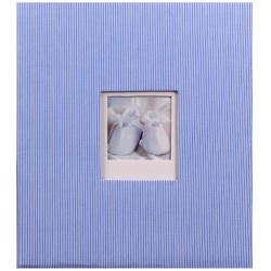Detský fotoalbum na rožky BAMBINIS modrý