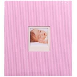 Detský fotoalbum na rožky BAMBINIS ružový