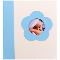Detský fotoalbum na rožky BABY's LOOK 60s. modrý