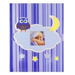 Detský fotoalbum 10x15/200 OWL modrý
