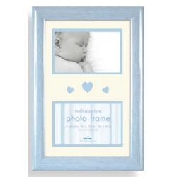 Detský fotorámik BABY BRIGHTS 2x10x15cm modrý