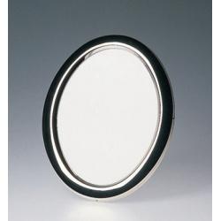 Oválny kovový fotorámik 10x15 BRASIL strieborný