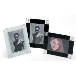 Exkluzívny fotorámik BERGAMO 13x18 čierny
