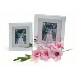 WEDDING RING 13x18 Strieborný svadobný fotorámik
