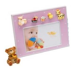 Detský fotorámik DARLING 15x10 ružový