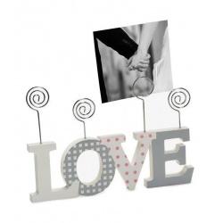 Fotoclip LOVE CLIP 22,5x14,8x1,5 multicolor