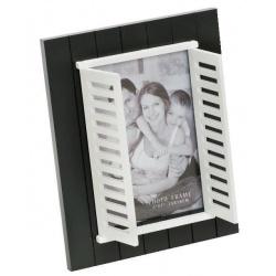 Čierny fotorámik 13x18 WINDOW