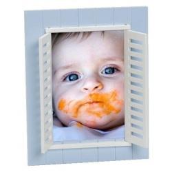 Detský fotorámik BABY WINDOW 13x18 modrá