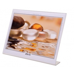 Akrylový fotorámik KARPEX 20x15cm šírka