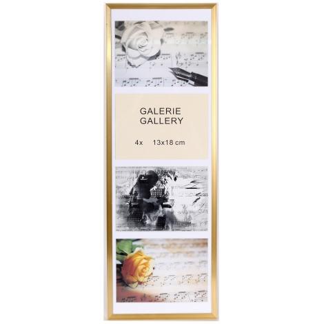 GALÉRIA TIMELESS 4 foto 13x18 champagne