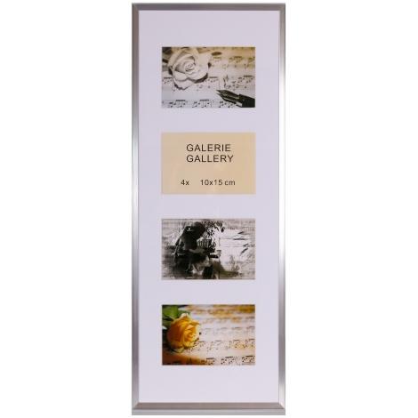 GALÉRIA TIMELESS 4 foto 10x15 strieborná