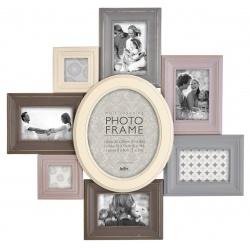 Farený retro fotorámik na viac fotiek 8f