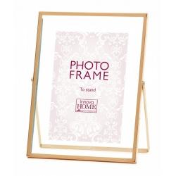 Ružové zlato fotorámik Rosette 13x18
