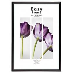 Čierny plastový fotorámik 21x29,7 A4 EASY Frame