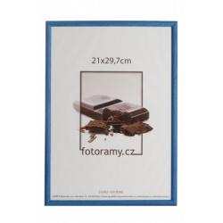 Drevený fotorámik DR0C1K 18x24 C2 tmavo modrý