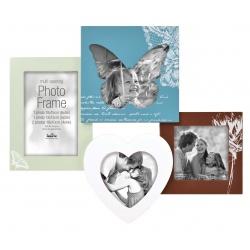 Farebný fotorámik na viac fotiek s motýlikovými motívmi na 4 fotografie