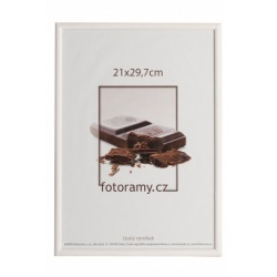Drevený fotorámik DR0C1K 20x30 C11 biely