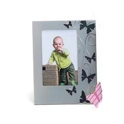 Detský strieborný fotorámik 10x15 SMART BUTTERFLY