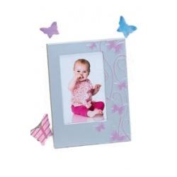 Detský ružový fotorámik 10x15 SMART BUTTERFLY