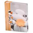Fotoalbum 10x15/200 fotiek STONES oranžový