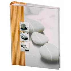 Fotoalbum 10x15/200 fotiek STONES šedý