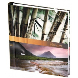 Samolepiaci fotoalbum 60 strán STONES bambus
