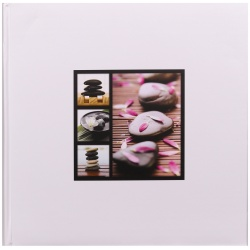 Fotolbum na růžky 30x30/100s. STONES bílé