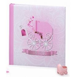 Dětský fotoalbum na rožky BABY MOVE 29x32/60s. ružový