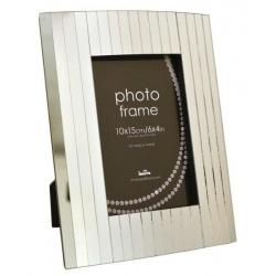 Sklenený fotorámik 10x15 PIN STRIPE
