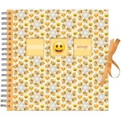 Scrapbook detský fotoalbum Emoji 25x25/50s Crowns