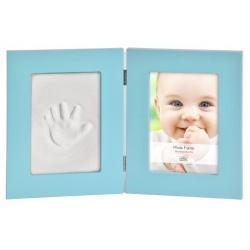 Detský set na odtlačky a fotku 13x18cm BabyKeepsake modrý