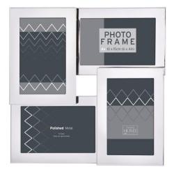 Strieborný fotorámik na viac fotiek Silver 4F