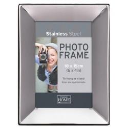 Tmavý kovový fotorámček 10x15 SS