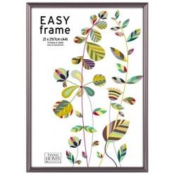 Tmavý kovový fotorámček 21x29,7cm/A4 EASY Frame
