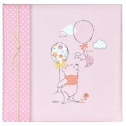 Detský DISNEY fotoalbum 10x15/200 Macko Pú Baby ružový