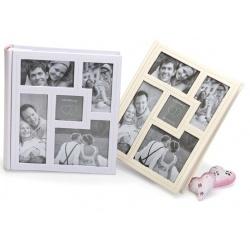 Svadobný fotoalbum 13x18/200 pop AMORE zlatý