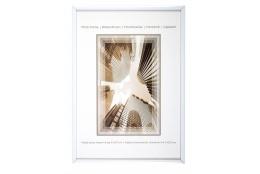 Biely fotorámeček 21x29,7 A4 KARPEX